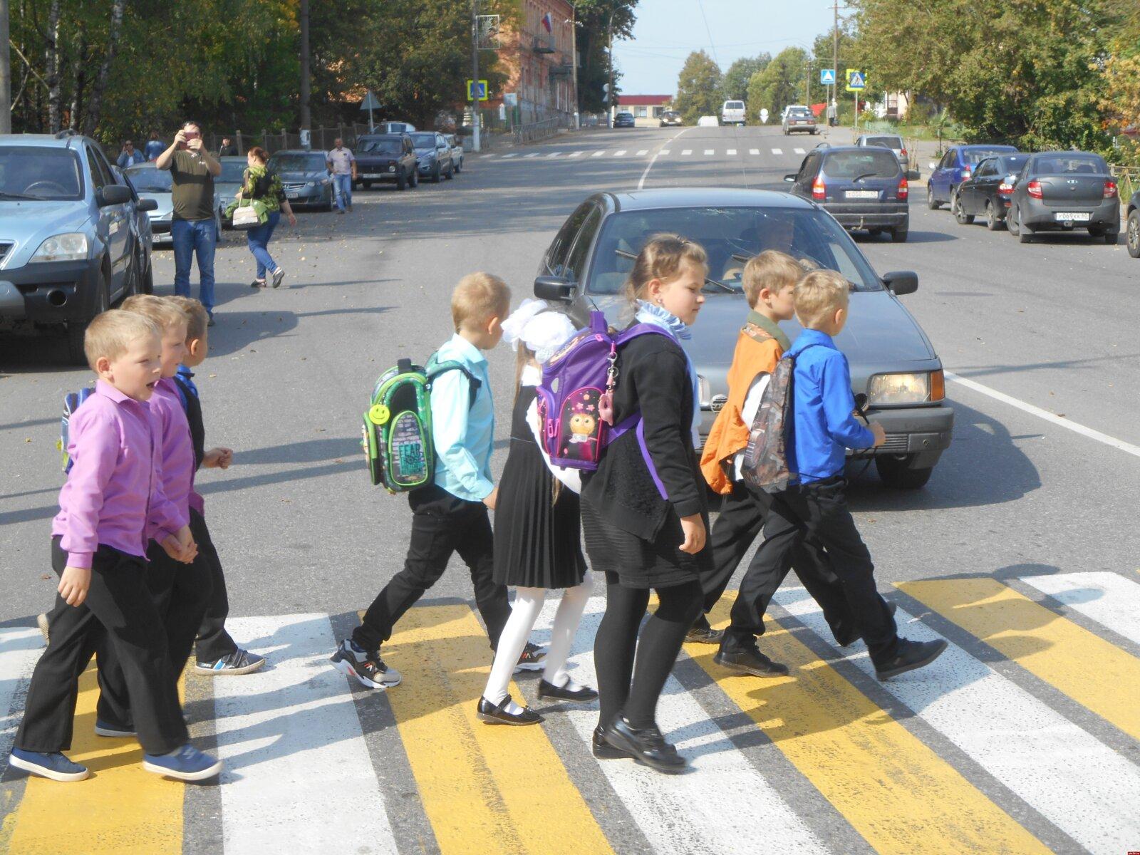 Дети должны быть в безопасности по дороге в школу